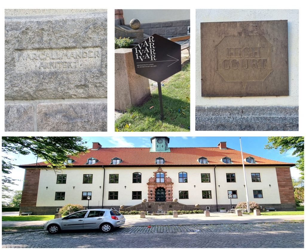 Gamla Hovrätten i Malmö - The highcourt
