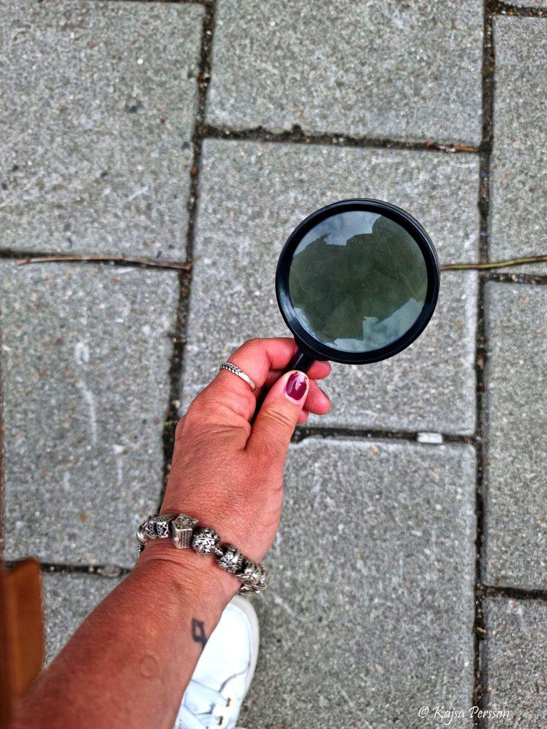 Förstoringsglaset var redo när vi letade efter Jack the Ripper i Malmö