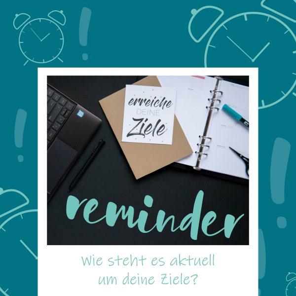 BlauerEisberg_Ziele erreichen _Reminder