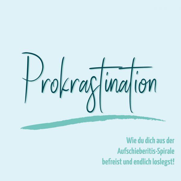 blauer Eisberg _ Aufschieberitis Prokrastination
