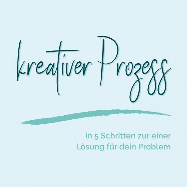 blauer Eisberg _ Kreativität Lösung Problem Prozess