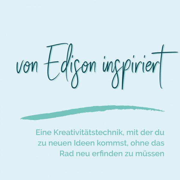 blauer Eisberg _ Kreativitätstechnik Edison
