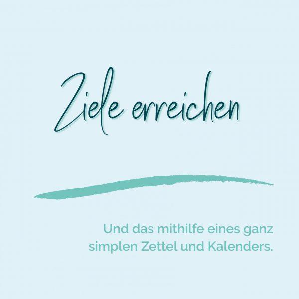 blauer Eisberg _ Ziele erreichen Tool Kalender