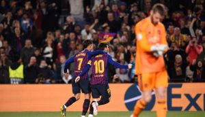 Barça through to the semis – and a night to remember