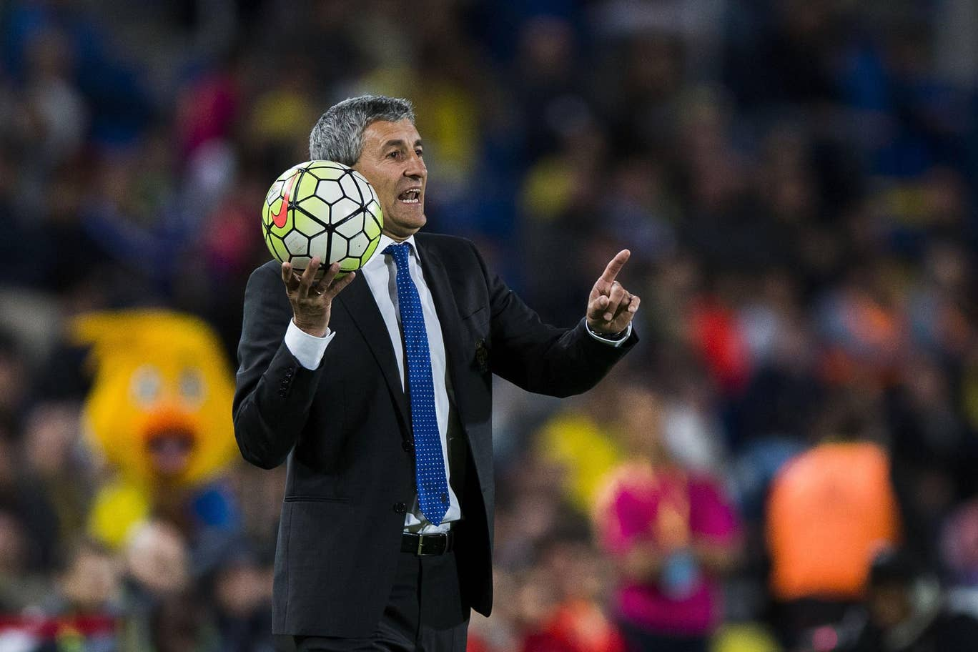 FC Barcelona's newly appointed manager, Quique Setién / GETTY IMAGES