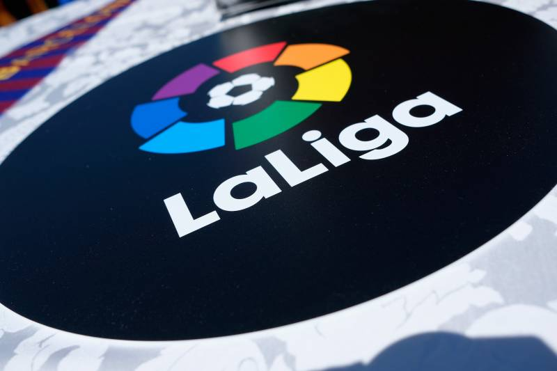 LaLiga's logo / BRIAN ACH/GETTY IMAGES
