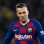 Arthur Melo, during El Clásico in March of 2020 / GETTY IMAGES EUROPE