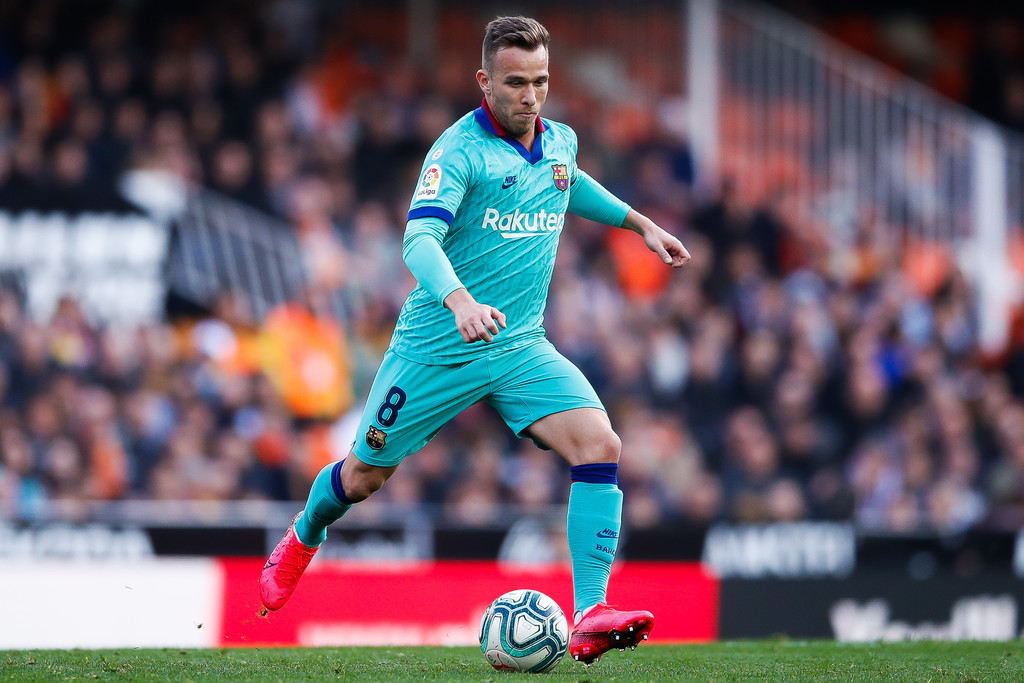 Arthur Melo, in action for FC Barcelona / GETTY IMAGES EUROPE