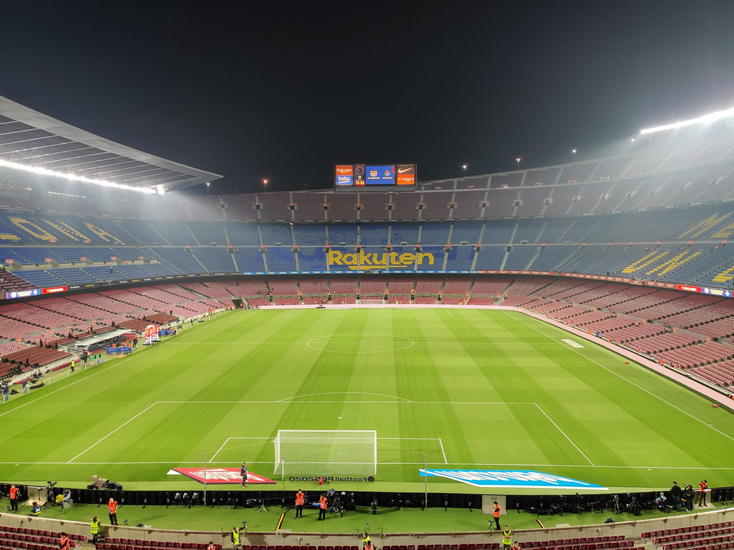 Camp Nou, the home ground of FC Barcelona / OMAR HAWWASH/BLAUGRANAGRAM
