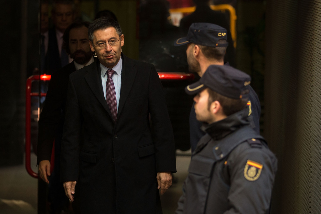 Things are not looking good for Barcelona and Josep Bartomeu, with six board directors handing in a joint resignation / GONZALO ARROYO MORENO/GETTY IMAGES EUROPE