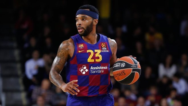 Malcolm Delaney playing for Barça Basket / VALENTÍ ENRICH