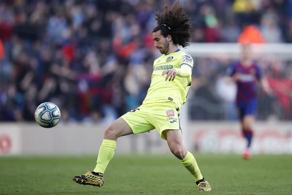 Marc Cucurella controls the ball at Getafe / GETTY IMAGES EUROPE