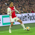 Sergiño Dest, during a performance for Ajax Amsterdam / FEDERICO GUERRA MORAN/NURPHOTO