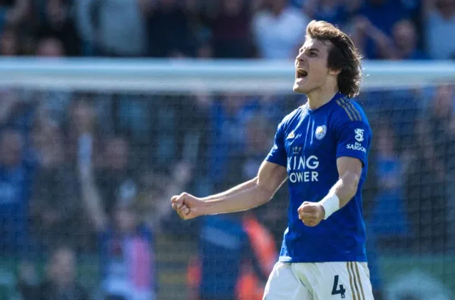 Çağlar Söyüncü has been a central figure for Leicester this season / GETTY IMAGES