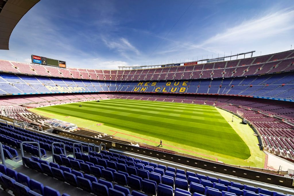 Barcelona's stadium, Camp Nou prior LaLiga return on June 11 / MIGUEL RUÍZ/FCBARCELONA