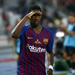 Barcelona winger Ousmane Dembélé is on his way back