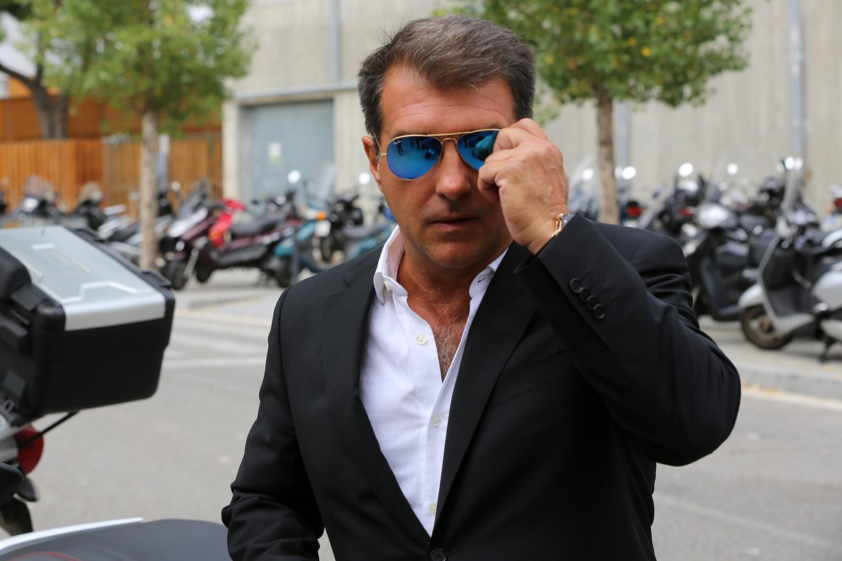 Former FC Barcelona president from 2003-2010, Joan Laporta / RICARD CUGAT