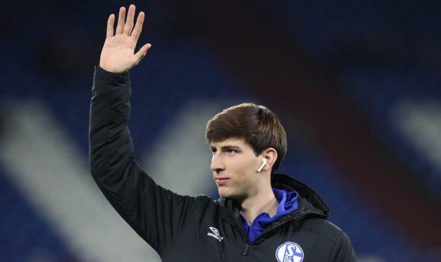 Juan Miranda with his loan club, Schalke / MAXPPP