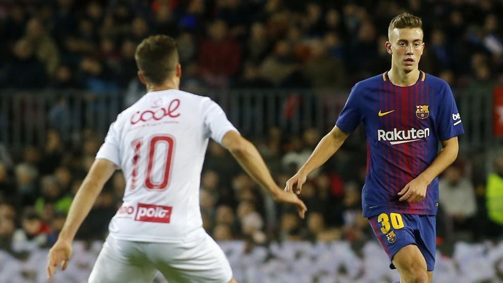 Oriol Busquets, in action for FC Barcelona / FRANCESC ADELANTADO