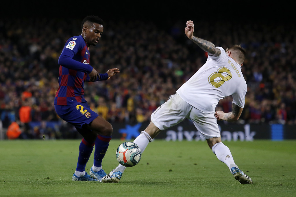 Barcelona's Nélson Semedo could be on his way out of Catalonia / ALONSO1957/GETTY IMAGES EUROPE