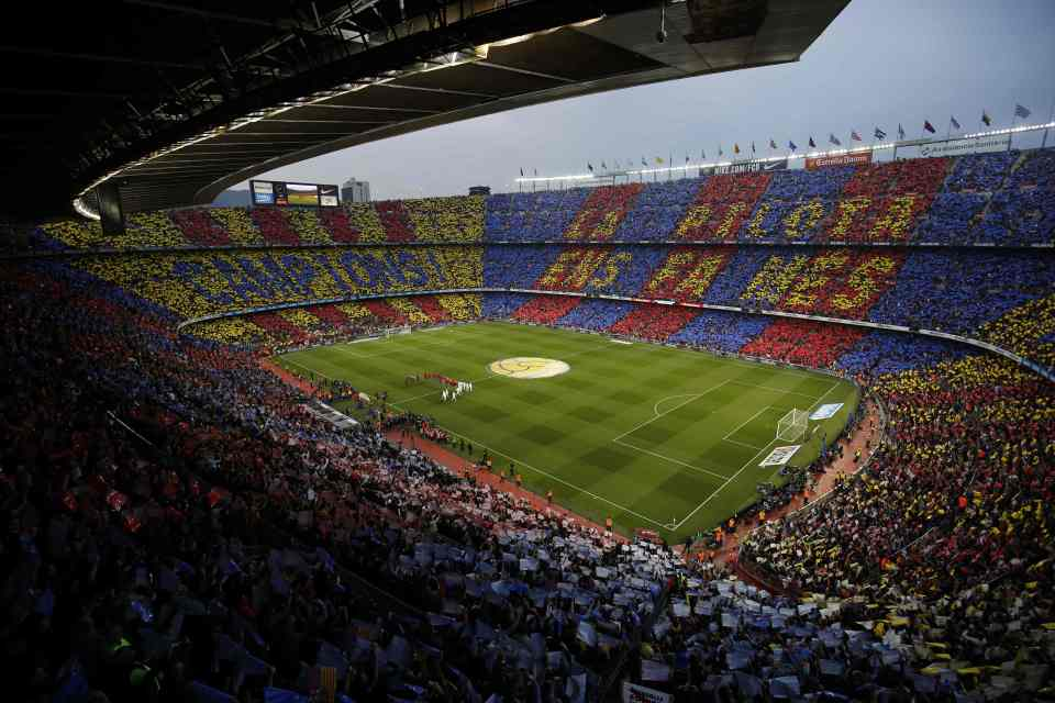 as spain loosens up lockdown restrictions fc barcelona aims to open camp nou to the fans open camp nou to the fans