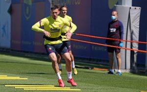 Barcelona Players Return To Training Following Coronavirus Lockdown (Source: Getty Images) May 18, 2020