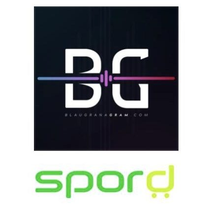 Photo montage for the partnership / SPORD and Blaugranagram