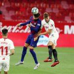 Gerard Piqué during the match between Barcelona and Sevilla in LaLiga / MIGUEL RUIZ/FCBARCELONA