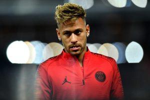 Neymar, prior to Paris Saint-Germain