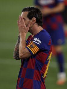 Messi: 'No ha dado para ganar la Liga'