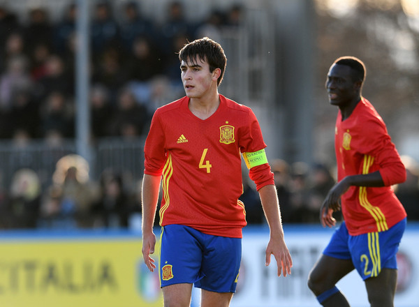 Italy U17 v Spain U17 - International Friendly In This Photo: Eric Garcia Eric Garcia of Spain action during the U17 International Friendly match between Italy and Spain at Juventus Center Vinovo on January 17, 2018 in Vinovo, Italy. (Jan. 16, 2018 - Source: Claudio Villa/Getty Images Europe)
