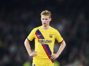 "Frenkie de Jong: ""I'm confident we can play better now"""