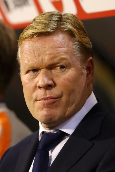 Ronald Koeman, Head Coach of the Netherlands in an International Friendly match between Belgium and Netherlands / Dean Mouhtaropoulos/Getty Images Europe