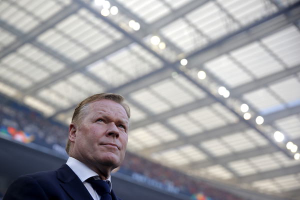 Ronald Koeman during the UEFA Nation's League / Dean Mouhtaropoulos / Getty Images Europe