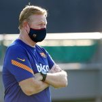 Koeman during training sessions/ FC Barcelona
