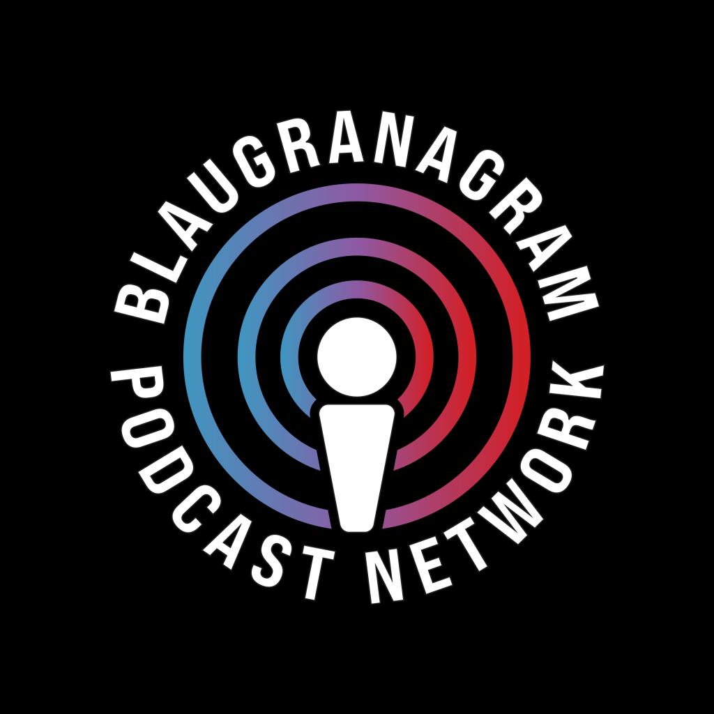 The official logo of the Blaugranagram Podcast Network / BLAUGRANAGRAM
