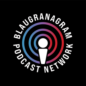 The official logo of the Blaugranagram Podcast Network / BLAUGRANAGRAM