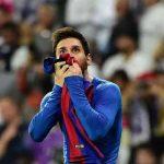 Messi celebrating his goal against Real Madrid/ SPORT
