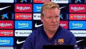 """Koeman: """"The club is working on bringing in a striker"""""""