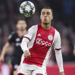Sergiño Dest in action for Ajax, against Chelsea, in the UEFA Champions League group stages / RICARDO NOGUEIRA/EURASIA SPORT IMAGES/GETTY IMAGES