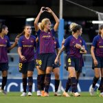 Latest FC Barcelona Femení medical statement