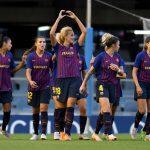 Latest FC Barcelona Femení medical statement