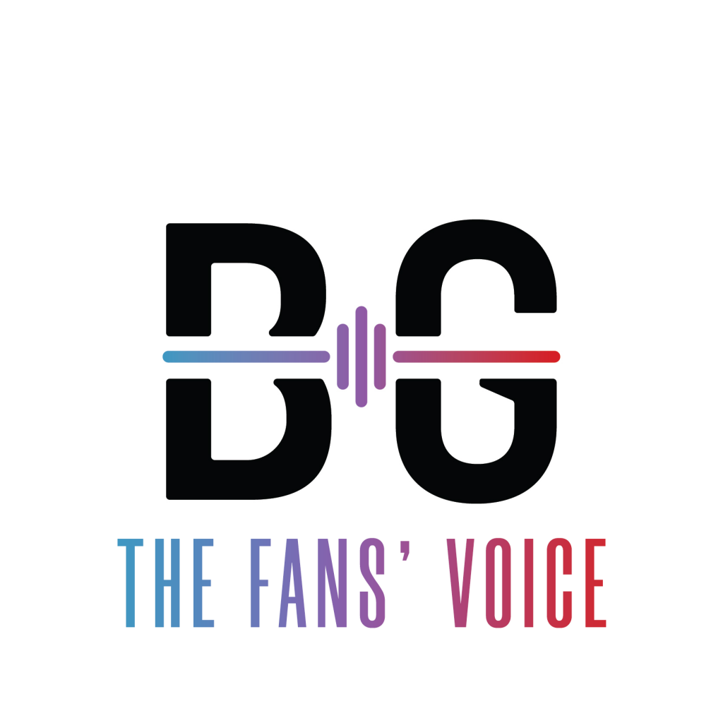 Logo for The Fans' Voice / BLAUGRANAGRAM