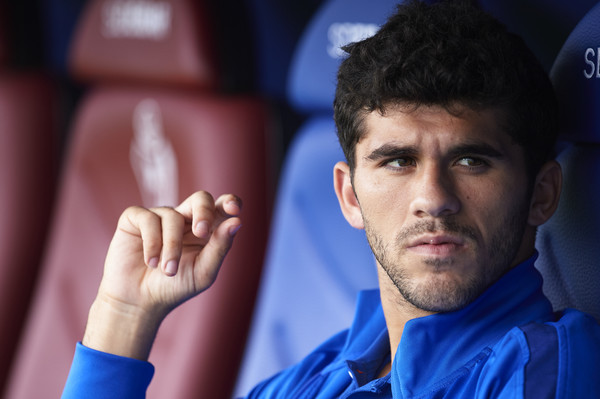 Carles Alena has seen little time on the pitch this season / JUAN MANUEL SERRANO ARCE / Getty Images Europe