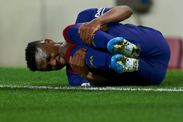 Ansu Fati during the Copa del Rey Round of 16 match between FC Barcelona and CD Leganes at Camp Nou on January 30, 2020, in Barcelona, Spain. (Photo by Quality Sport Images/Getty Images)
