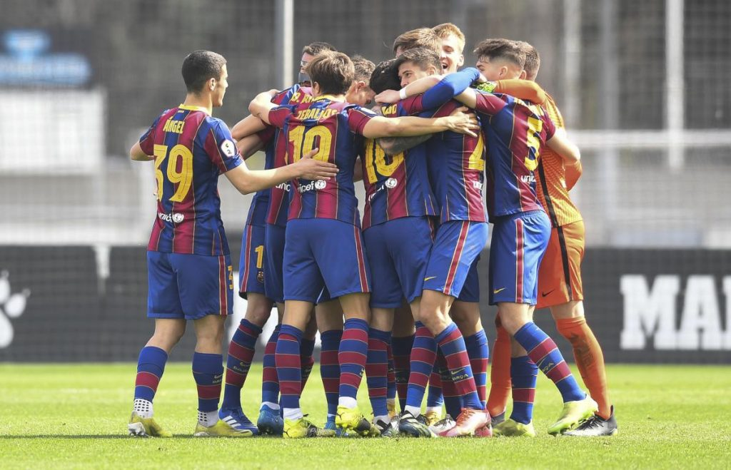 Barça B win again and is one step closer of the promotion / FC Barcelona B