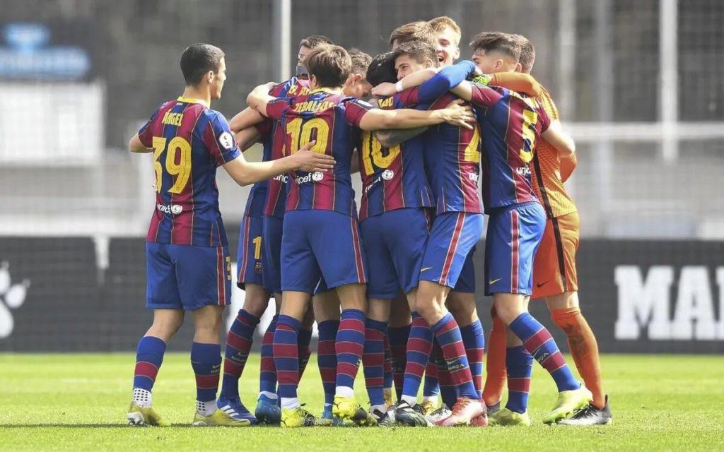 El Barça B quedó segundo y luchará por ascender a Segunda División / FC Barcelona B