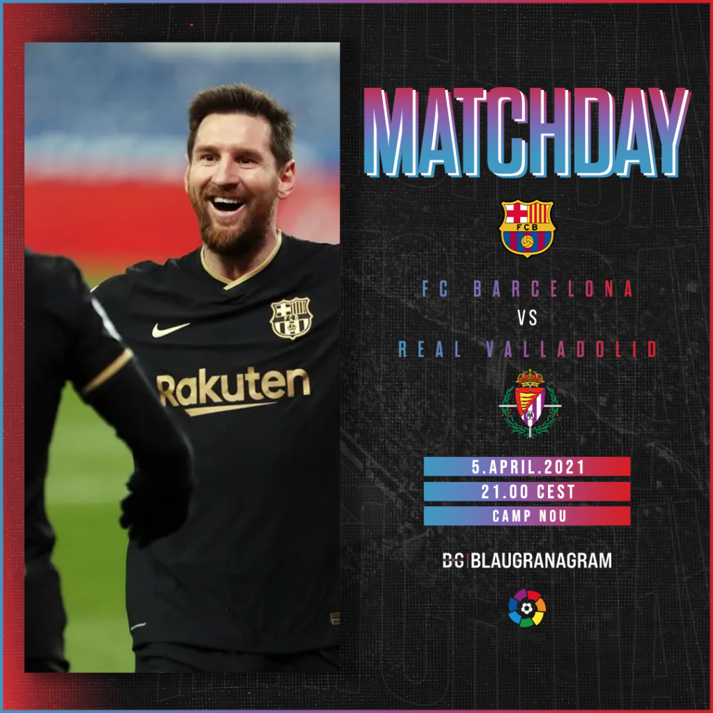 Matchday graphic for the FC Barcelona vs SD Huesca encounter on March 15 / BLAUGRANAGRAM