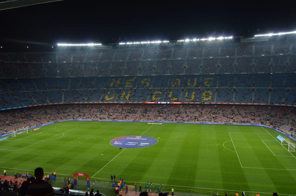 Camp Nou in 2018 before the match against Sevilla / Matevž Kožman / BLAUGRANAGRAM