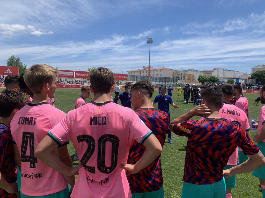 Barça B lost the penalty shootout / FC Barcelona B on Twitter
